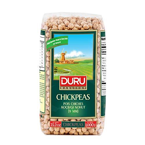Duru ドゥル 乾燥ひよこ豆 9ミリ 1kg 1000g ドライ トルコ産 Yerli Kocbasi Nohut 9mm Chickpeas