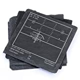 Greatest Bears Plays - Slate Coasters (Set of 4)