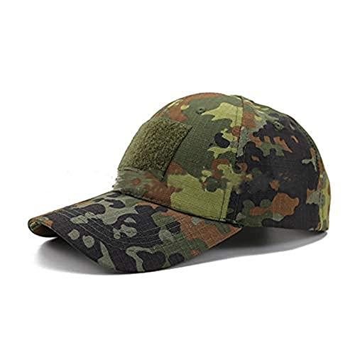 Berretto da Baseball Militare,Cappello da Esercito da Uomo Cappello Mimetico Tattico Cappello da Baseball Berretto da Pesca per Uomo Donne Caccia Campeggio Sole Sport all'aria Aperta Tiro Esercito