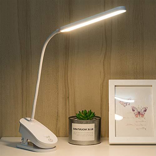 クリップライト LEDデスクライト テーブルスタンド 卓上ライト 目に優しい 明るい 省エネ 電気スタンドUSBポート USB充電式 デスクスタンド テーブルライト ナイトライト 読書灯 スタンドライト ブックライト 3段階調色(暖色/白色/昼光色) 無段