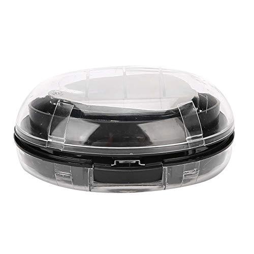 Lupa de reparación de reloj con batería de botón LR1130 de 3 piezas, para lente de vidrio óptico incolora