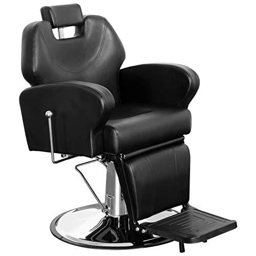 BarberPub Friseurstuhl Friseureinrichtung Friseursessel Bedienungsstuhl 8907BK