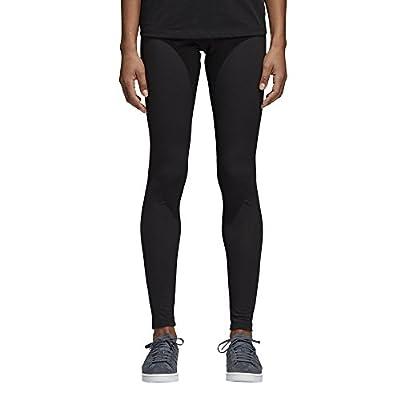 adidas Women's Trefoil Leggings, Black/Mini Logo, S