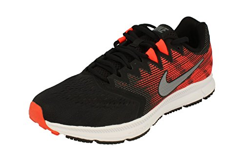 Nike Zoom Span 2 Mens Running Trainers 908990 Sneakers Shoes (UK 9.5 US 10.5 EU 44.5, Black Metallic Cool Grey 006)