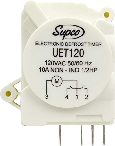UET120 fits for Refrigerator Defrost Timer Control Universal 120 Volt Electronic