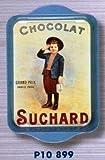 Cartexpo P10899 - Bandeja Retro (Metal, pequeña), diseño de Chocolate Suchard