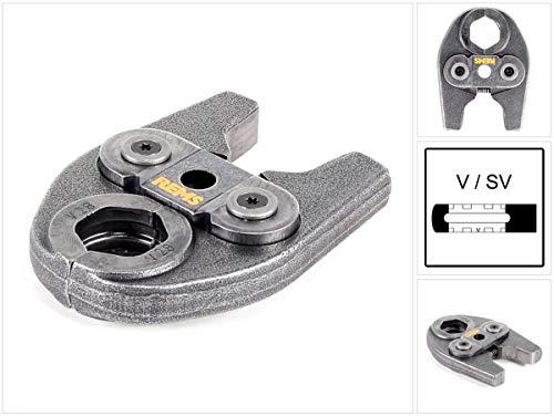 REMS Pressring (Presszangen) Mini V 28 mm - Zubehör für REMS Mini-Press, System AHLSELL A-press koppar, hochbelastbar, aus besonders zähhartem Spezialstahl, systemkonformes, sicheres Pressen