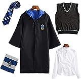Deciduous Cosplay Harry Corvonero Bambini Unisex Set Capo Tie Shirt della Maglia della Sci...