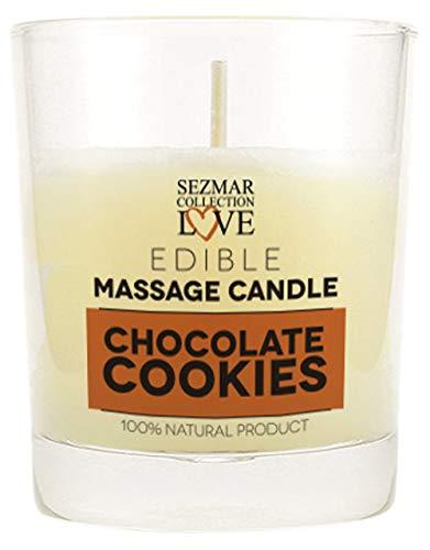 Candela da massaggio profumo di Biscotto al Cioccolato - 100 ml