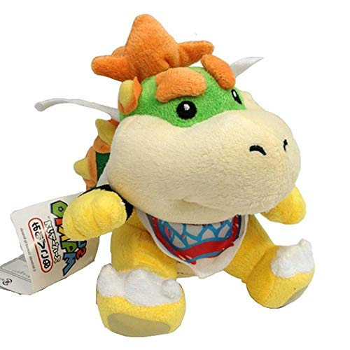 Bowser Jr 7' Plush (Very Limited) Super Mario Plush Toy Soft Cuddly Toy