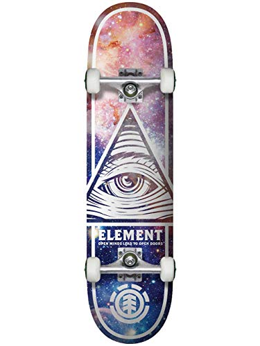 Element - Skateboard Complete Deck Eye Trippn Cosmos, 8.0'