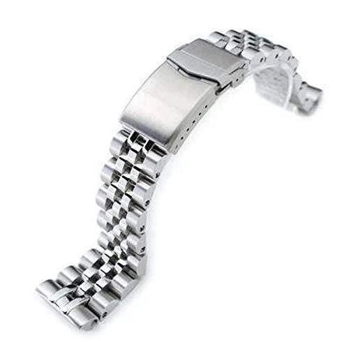 Strapcode 22mm ANGUS Jubilee 316L cinturino in acciaio inossidabile per...