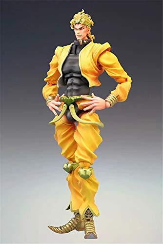 WJSWBX 17CM JoJo\'s Bizarre Adventure Dio Brando Anime Figur PVC Modell Statue Spielzeug Action Figur Cartoon Puppen