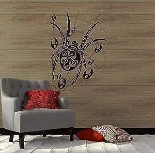 V-studios Wall Decal Spider Cobweb Web Tribal Art Mural Vinyl Stickers VS2887