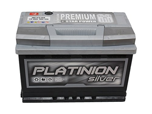 Batería de coche 80ah MAX PLATINION PREMIUM