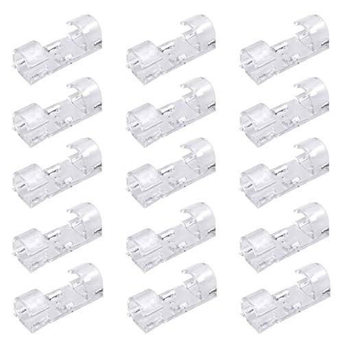 80 Stück Selbstklebende Kabelclips, Kabelhalter Schreibtisch, Draht Kabel Halter, Kabelklemme für Schreibtisch, für Netzkabel, USB Ladekabel, Ladegeräte und Audiokabel (80 Transparente Kabelklemme)