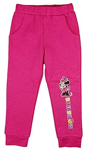Mädchen Baby Kinder Freizeit-Hose Harem-Spiel-Jogging-Hose Minnie Mouse Disney Baby Gr 80 86 92 98 104 110 Baumwolle Warm für 1 2 3 4 5 Jähriges tolles Geschenk (Modell 4, 116)