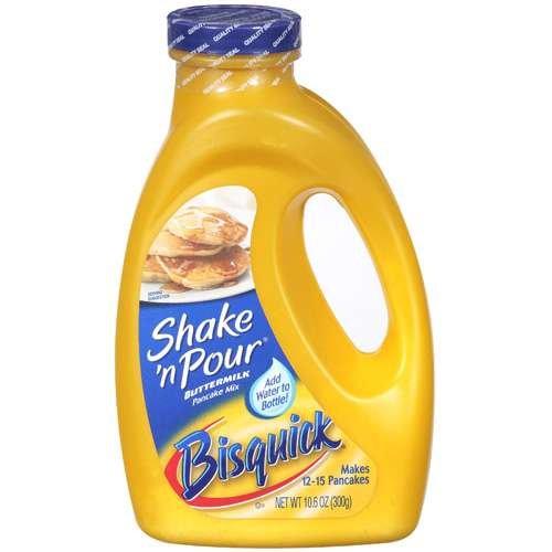 Bisquick Shake n Pour Buttermilk Pancake Mix - 300g