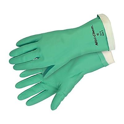 Safety Works Chemical Nitrile Glove Flocked