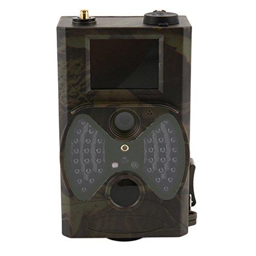 HC-300M Wildkamera HD 1080P GPRS IR LEDs 940nm 12MP Jagdkamera Weitwinkel Vision Infrarot Ausgelöst 20M Nachtsicht Wasserdichte bewegungsmelder TFT LCD Überwachungskamera Jagdkamera mit Zubehör