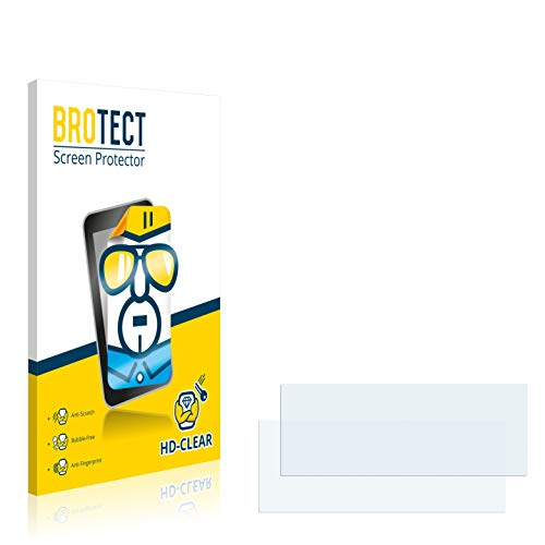 "brotect 2-Pièces Protection Ecran Compatible avec BMW X5 E70 2006-2010 Professional 8.8"" 2013 - Film Protection Ultra Clair"