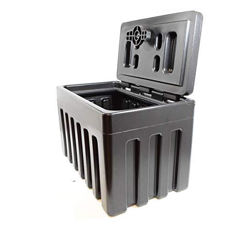 LKW Staukasten aus Kunststoff 300х500х300mm ~30 Ltr Werkzeugkasten, Unterbaubox für Nutzfahrzeuge Anhänger, Staubox, Werkzeugkiste, Gurtkiste, Deichselbox