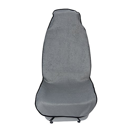 JSCARLIFE Auto Seat Cover Yoga Sweat Handdoek Seat Mat voor Fitness Beach Gym Hardlopen Auto Seat Protect Grijs
