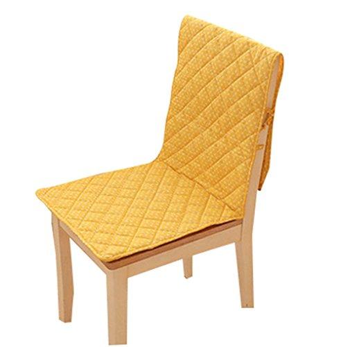 Blancho Chaise de Coussin Slipcovers de Couverture Chaise Pad d'une Seule Pièce