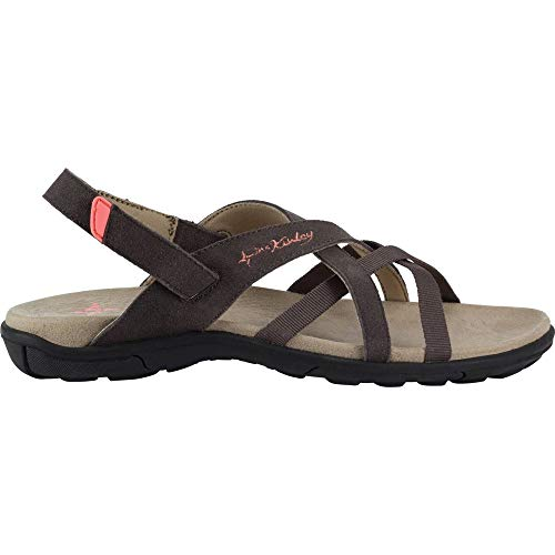 McKINLEY Damen Fidji Geschlossene Sandalen, Braun (Brown/Orange 900), 40 EU