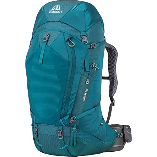 Gregory Mountain Products Women's Deva 70 Backpacking Pack , Antigua Green, Medium