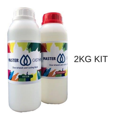 Mastercast 1–2-1 Résine claire epoxy