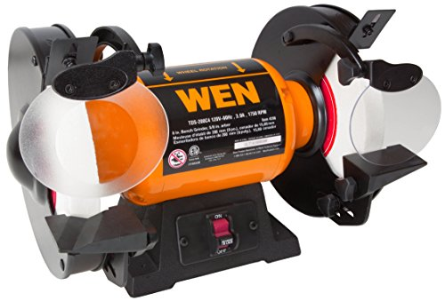 WEN 4286 3-Amp 8-Inch Slow Speed Bench Grinder