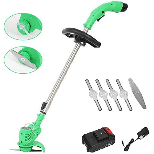 Why Choose SAHAPA Shrub Trimmer with Electric Trimmer Electric Lawn Mower Cordless Grass Trimmer Bat...