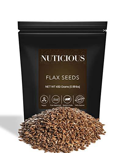 Nuticious Flax Seeds -450 Ge Nuts & Berries