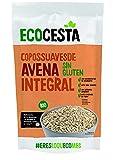 Ecocesta Copos Suaves de Avena Integral Ecológica sin Gluten, Azúcar ni Lácteos Aptos para Veganos (6 x 500g)