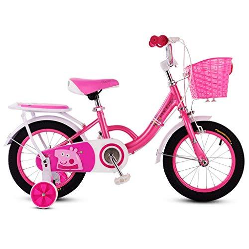 WZLJW Bicicletas 3-6-7-8 años de Edad, los niños de Bicicletas Niño Niña de Bicicletas Plegables YCLIN ggsm (Color : 14in 3)