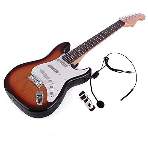 Kids Guitar Beginner Elektrische Toy Guitar Stem Aanraking Simulatie Gitaar Muziekinstrument Spelen Speelgoed, Ideaal Voor Kinderen Leren Hoe Te Educatieve Spelen