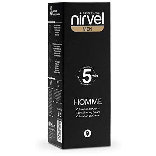nirvel pelo Color Gris Claro Para Hombres en 5min Anti gris precortadas gris haarab cobertura farbvar (1) (1)