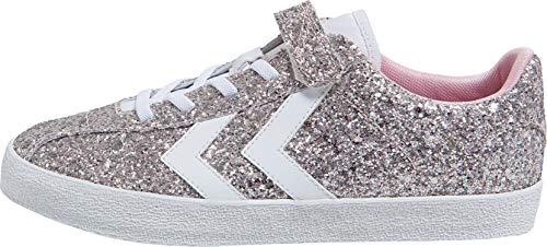 hummel Mädchen Diamant Glitter JR Sneaker, Pink (Pale Liliac 3333), 34 EU