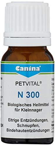 Canina 52030 5 Petvital N 300 Inhalt 10 g Globuli für Nager