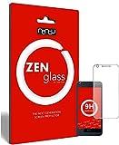 ZenGlass Nandu I Protector de Vidrio Flexible Compatible con HTC Desire 626G I Protector de Pantalla 9H