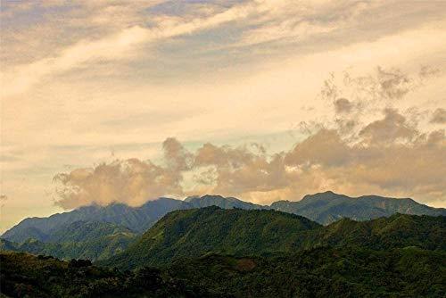 5D Diamante Dibujo Sierra Madre Montañas Muebles Decoración Sin marco 30 * 40Cm