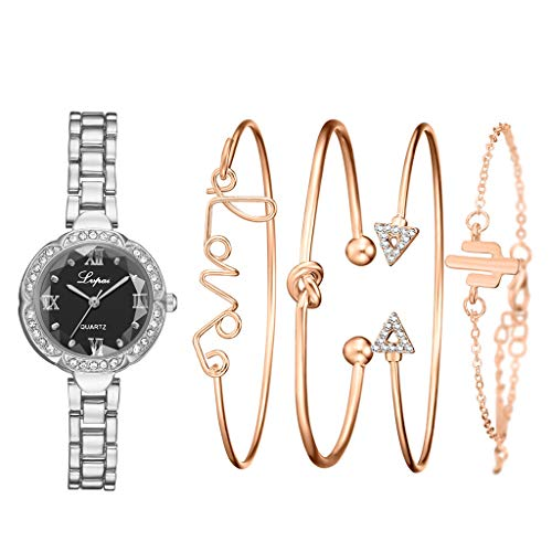 Purchase Muranba Women's Quartz Diamond Crystal Strap Watch Analog Wrist Bracelet bracelet Watch