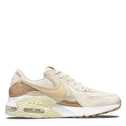 Nike Air MAX EXCEE, Zapatillas para Correr Mujer, Palas Ivory Pale Vanilla Coconut Milk, 40.5 EU