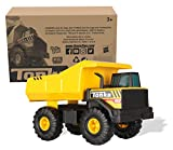 Tonka Steel Classics Mighty Dump Truck, Toy Truck, Real Steel Construction, Ages 3 and Up, Frustration-Free Packaging (FFP)
