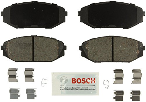 Bosch BE793H Blue Disc Brake Pad Set with Hardware for 2001-02 Acura MDX and 1999-04 Honda Odyssey - FRONT