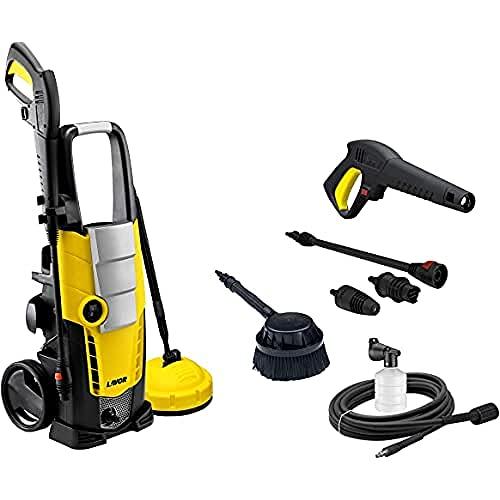 Lavor Idropulitrice ad Acqua Fredda GALAXY 150 2100W, Pressione 150 bar max, Portata 450 l/h max, con Spazzola Rotante e Accessorio Lava Patio