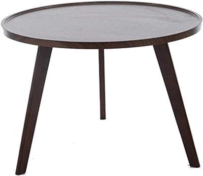 Bois Ronde décor et Meubletmoi Table chêne de Basse Effet uT3JcFKl1