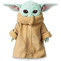 Vercico Yoda Bebe Peluche Muñecos,12 Inch Peluche De Algodón PP Yoda Bebe Muñeco Animados Lindo Niño De Peluche De Juguete para Niños