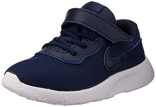 Nike Tanjun (TDV), Zapatillas de Estar por casa Bebé Unisex, Multicolor (Obsidian/Obsidian/White 407), 21 EU